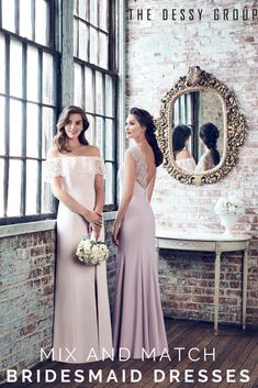 The Dessy Group is your number one source for Bridesmaid, flower girl, and mother of the bride dresses with custom color and fit. Don't forget your accessories and gifts! Junior Bridesmaid Dresses, Bridesmaid Flowers, Wedding Bridesmaids, Bridal Dresses, Blush Dresses, Prom Dresses, Wedding Pics, Wedding Bells, Wedding Styles