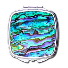 Portable Art Patterns Design Pocket Compact Mirror Beauty Accessories (Pearl) -- Continue to the product at the image link.