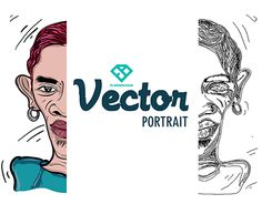 """Check out new work on my @Behance portfolio: """"Vector Portrait illustration"""" http://be.net/gallery/34985237/Vector-Portrait-illustration"""