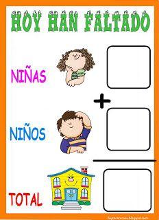 RECURSOS DE EDUCACION INFANTIL: PASAR LISTA