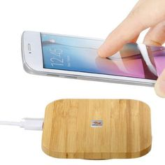 Qi Wireless Charger Charging Slim Wood Pad Mat for Samsung iPhone 8 Plus X Iphone 8 Plus, Apple Iphone, Cell Phone Picture, Smartphone, Usb, Apple Model, Phone Charger, Coque Iphone, Cool Gadgets