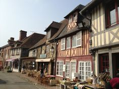 """See 58 photos and 2 tips from 311 visitors to Beuvron-en-Auge. """"One of the most beautiful villages in France, just takes more 2 hours from Paris. Most Beautiful, France, Eyes"""