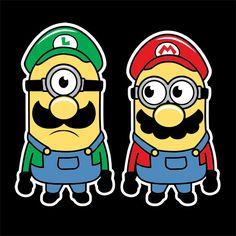 Super Minion Bros. kids T-shirt and baby onesie | Snappy Kid