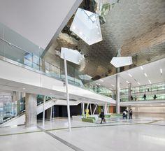 Le projet d'agrandissement du CHU Sainte-Justine est maintenant terminé - Index-Design.ca