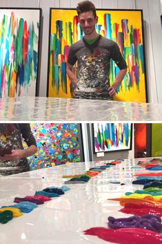 #Artist #Artiste #Painter #Peintre #Art #AbstractArt #Peinture Wood Canvas, Canvas Frame, Canvas Art, Art Gallery, Art Abstrait, Canvas Paintings, Art Studies, Ideas Para, Pop Art