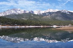 Back Side of Pikes Peak by Kim Robideau...Home