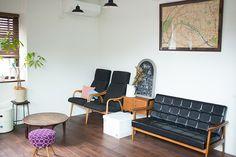 ラストレーターの伊藤和人さんとシラキハラメグミさんによるイラストレーションユニット「seesaw.」がアンティークでモダンにリノベーションした素敵なマンション_12