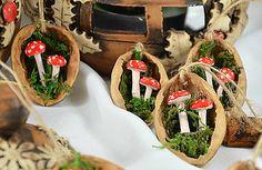 charoit / Vianočné oriešky s muchotrávkami