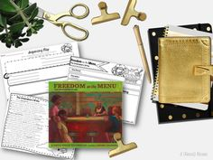 Freedom on the Menu Literacy Companion  This is a great resources for teaching your students about Black History and the NC Greensboro Sit Ins.