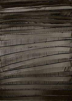 pierre soulages: black and light - paris | minimal exposition