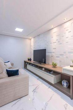 Home Living Room, Interior Design Living Room, Living Room Decor, Living Room Theaters, Plafond Design, Living Room Tv Unit Designs, Tv Wall Decor, Design Salon, Home Decor