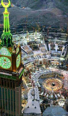 Rise of Islam:  The cities of Mecca and Medina became the two holy cities of Islam and the hub from which Islamic thought and art was spread