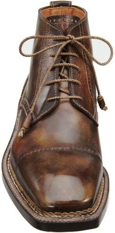 #Botas Bettanin venturi brown cap toe derby #Boots