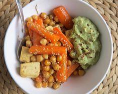 Knackiges Gemüse aus dem Ofen - Low Carb