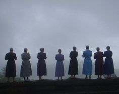 Mennonite/Amish women