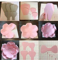 Paper flowers Tissue Paper Flowers, Paper Flower Wall, Paper Flower Backdrop, Flower Wall Decor, Paper Roses, Giant Paper Flowers, Diy Flowers, Fabric Flowers, Paper Flower Patterns