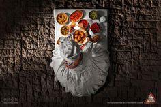Festival International de la Photographie Culinaire: Street Food, 1  #ads #marketing #creative #werbung #print #poster #advertising #campaign < found on www.adsoftheworld.com pinned by www.BlickeDeeler.de