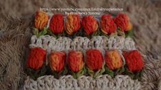 Tulipan de Crochê Precioso video ✿Teresa Restegui http://www.pinterest.com/teretegui/✿