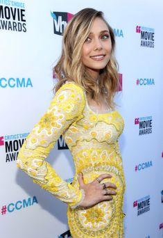 Elizabeth Olsen Diamond Ring - Elizabeth Olsen Looks - StyleBistro