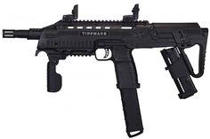 Amazon.com : Tippmann TCR Magfed Tactical CQB Paintball Gun - Black : Sports & Outdoors