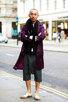 The title really says it here. On the Street….Subtle Masterpiece, London « The Sartorialist