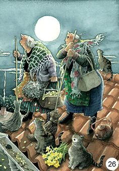 HOWLING AT THE MOON & NOT A CARE OF WHAT OTHERS MAY THINK. OLD GRANNIES HAVE BEEN THERE ...DONE WITH THAT NONSENSE. OVER IT