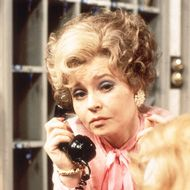 Prunella Scales.... Even her name is amazing!   Here she is as Basil Fawlty's wife, Sybil, in Fawlty Towers...love her!