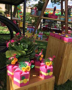 Hawaiian Luau Party, Tropical Party, Flamingo Birthday, Flamingo Party, 12th Birthday, Birthday Party Themes, Pool Party Favors, Ohana, Unicorn