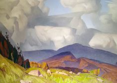 Madawaska Valley 1980 Canada Limited Edition Print by A. Group Of Seven Paintings, Canadian Artists, Landscape Paintings, Landscapes, My Ride, Limited Edition Prints, Art Tutorials, Golden Age, Art Deco