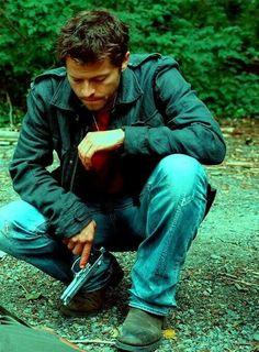 Misha Collins in Stonehenge Apocalypse ❤