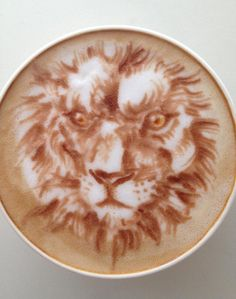 Latte Art: Lion