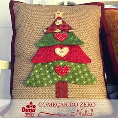 41 Trendy Ideas For Sewing Pillows Ideas How To Make How To Make Christmas Tree, Christmas Makes, Homemade Christmas, Christmas Fun, Christmas Sewing Projects, Christmas Crafts, Christmas Decorations, Christmas Ornaments, Christmas Cushions