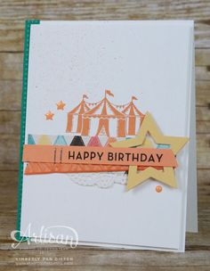 Cupcakes & Carousels, Stampin' Up!, Carousel Birthday