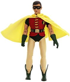 Batman Classic TV Series 8 Inch Robin Action Figure * Click image for more details.