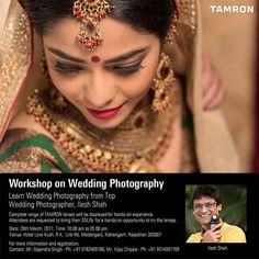 Join to Learn Workshop by Mr.Ilesh Shah - one of the prominent photographer in India visiting Kishangarh  Rajasthan TOMORROW. Don't miss this.  www.ileshshah.com Ilesh Shah Photography #ileshshah #MyPhotoInVogue  #Tamron #Lens #Zoom #Wide #Tele #Macro #Workshop #Training #Mentor #Photography #Travel #Wedding #Wildlife #10-24 #24-70 #70-200 #150-600 #Technology #Nikon #Canon #Sony #Ahmedabad #Gujarat #India #jodhpur #kishangadh #rajasthan #fashion