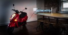 The Fonzarelli:Australia's first eco–friendly chic city Moto Scooter offers a totally silent ride