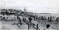 Bathing beach, Dovercourt Bay. 1912