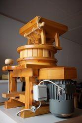 Osttiroler Flour Mill Type A 200 stones. Flour Mill, Bakery, Stones, Bread, Rocks, Bread Store, Stone, Bakery Business