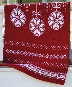 Celebration Afghan (loom knit pattern)