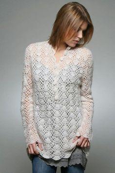 Inspirações de Croche com Any Lucy: Vestido