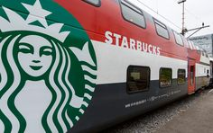 SBB railways debuts starbucks' first on-board concept store