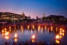 Waterfire in Providence is a wonderful sight to see!