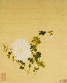 О, хризантема, осени цветок... (Ван Яньгэ 王延格). Обсуждение на LiveInternet…