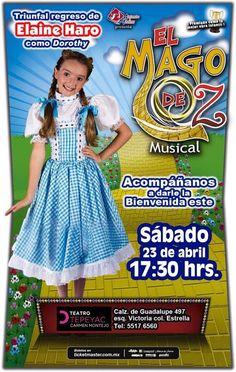 El Mago de Oz con Elaine Haro Teatro Tepeyac