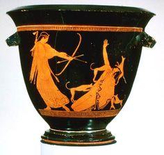 Es la diosa cazadora, la hermanan carnal de Apolo , con su arco de oro y sus flechas, que deja a su paso a los animales aullando y ...