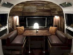 Idee Per Interni Roulotte : 70 awesome airstream trailers interiors 5