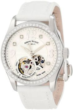 Armand Nicolet Women's 9653D-AN-P953BC8 LL9 Limited Edition Stainless Steel Classic Automatic With Diamonds Watch...