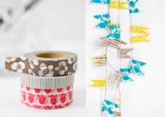 tape garland
