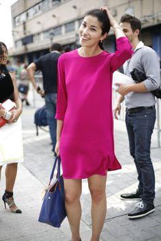 Caroline Issa, New York Fashion Week Spring 2013 Street Style « fashionmagazine.com