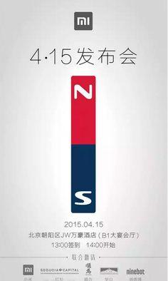 Interesante: Xiaomi podría presentar una nueva línea de productos el 15 de Abril
